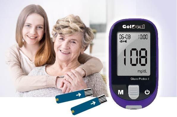 جهاز قياس نسبة السكر بالدم Goldeal جولديل