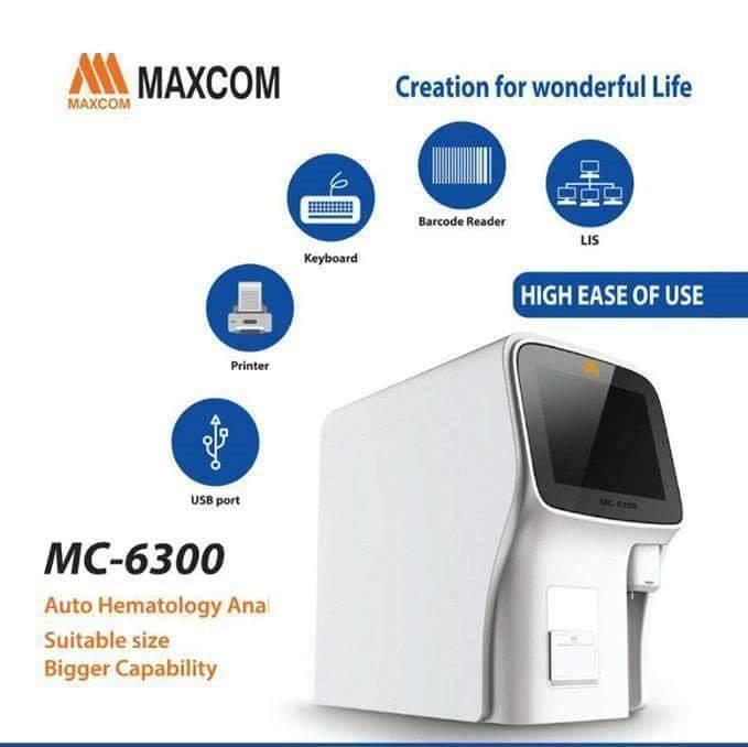 جهاز صورة الدم MAXCOM-6300