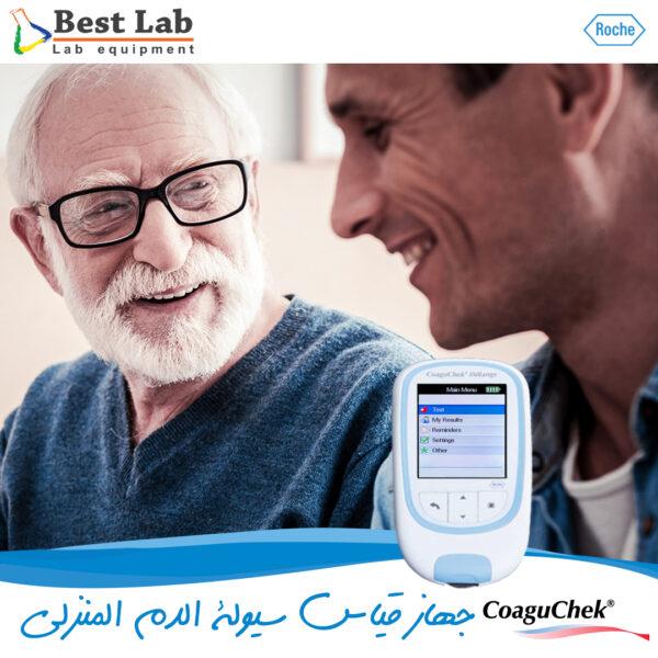 جهاز قياس سيولة الدم المنزلي