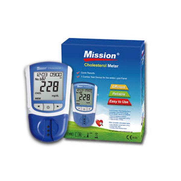 جهاز قياس نسبة الدهون بالدم Mission Cholesterol