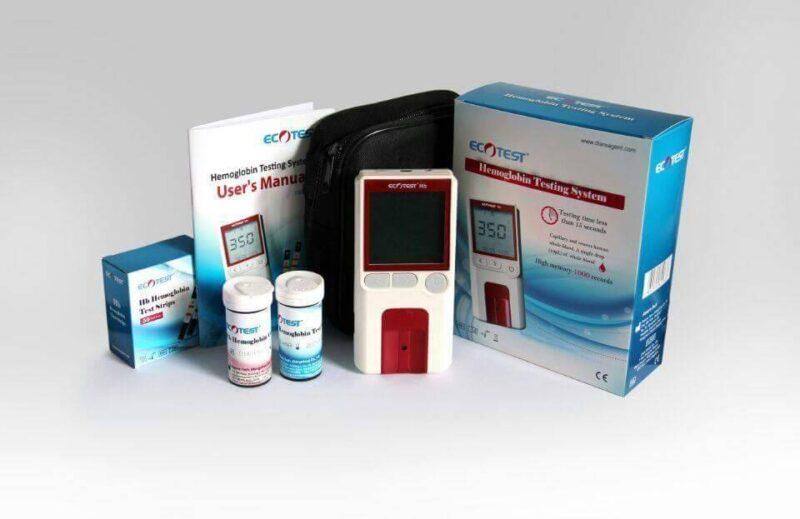 جهاز قياس نسبة الهيموجلوبين ECOTEST Hemoglobin Meter