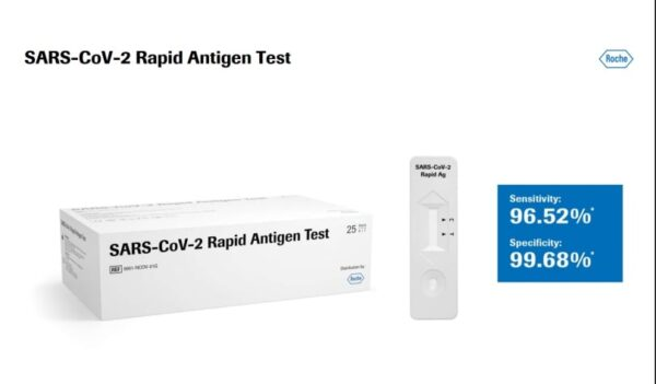 اختبار مسحة كورونا Covid-19 Ag