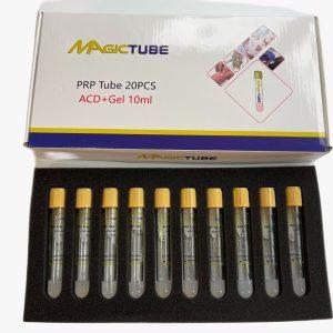 PRR Tube 10 ML Yellow cap 20 tubes- Magic Tube